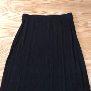 Old Navy Skirts - Old Navy black maxi skirt with side slits